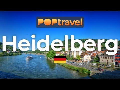 Walking In HEIDELBERG / Germany 🇩🇪- 4K 60fps (UHD)
