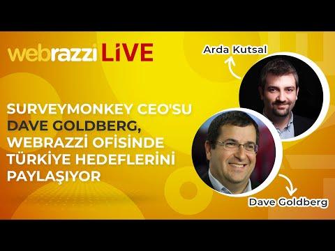 SurveyMonkey CEO'su Dave Goldberg, Webrazzi ofisinde Türkiye hedeflerini paylaşıyor