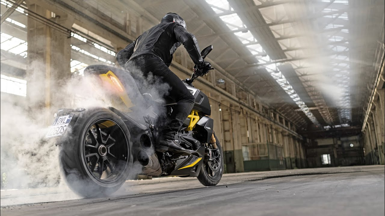 New Ducati Diavel 1260 S Black and Steel
