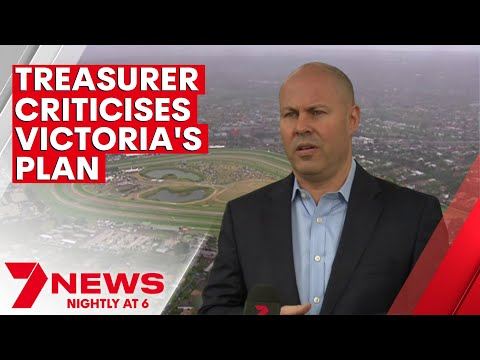 Federal treasurer calls for Victoria to match NSW in easing restrictions | 7NEWS
