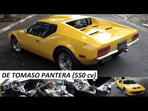 Garagem do Bellote TV: De Tomaso Pantera (408 V8, 6,6 litros, quadrijet e 550 cv)