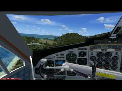 Dangerous Airport Approaches (FSX): SABA - Juancho Yrausquin Airport in Netherlands Antilles