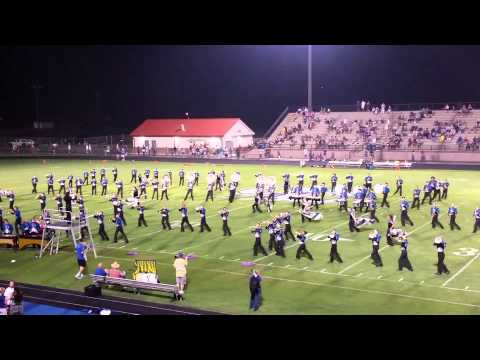 Oconee county high school marching band part 1