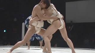 Kota Ibushi vs Shinobu sumo wrestling