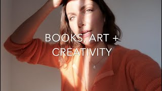 BOOKS, ART + CREATIVITY VLOG | EMMA HOAREAU