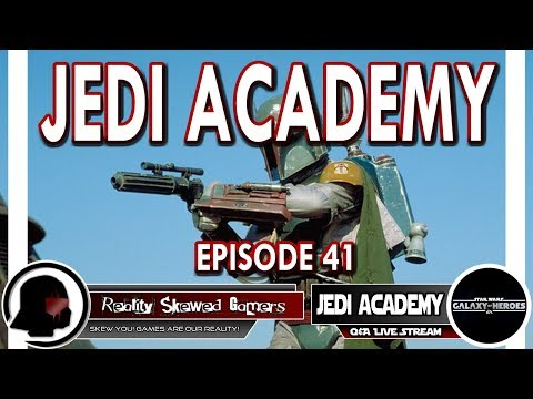 SWGOH Jedi Academy Episode 41 Live Q&A | Star Wars: Galaxy of Heroes #swgoh