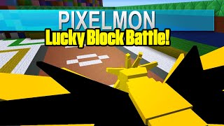 Pixelmon: Lucky Block Battle! - Zapdos Champ!