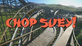 Planet Coaster - Chop Suey! - Ride Overview