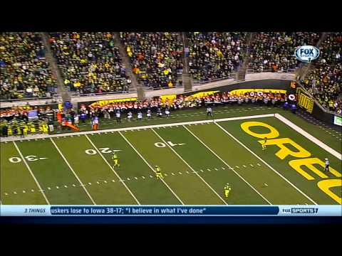 Oregon vs  Oregon State 2013 Ducks Highlights HD