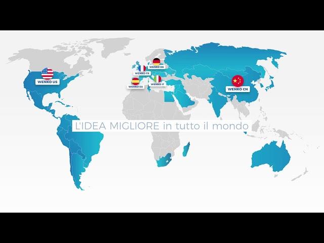 Wenko Weltkarte IT