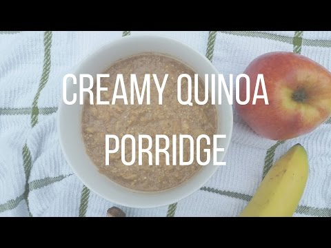 CREAMY QUINOA PORRIDGE [VIDEO]