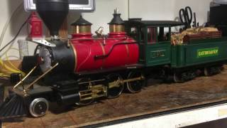 In For Repair   Lehmann 2-6-0 Mogul Model Locomotive