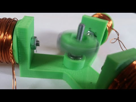 How to make a brushless dc motor.
