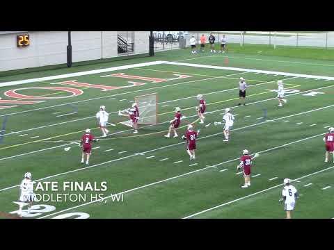 Nolan Rappis-Class of 2021-Lacrosse Highlights 2019 Spring Season. Kettle Moraine High School, WI.