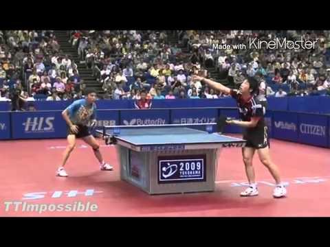 Table Tennis Jun Mizutani (WTTC 2008,2009,2010)