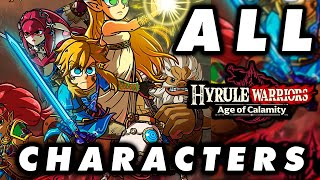 Hyrule Warriors Age Of Calamity All Playable Characters Datamine Leak Youtube