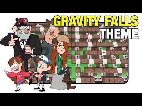 "Gravity Falls ""Theme"" - Minecraft Xbox |NoteBlock Song|"