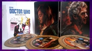 Doctor Who: Complete Series 9 Blu-Ray Steelbook Review   ᴴᴰ
