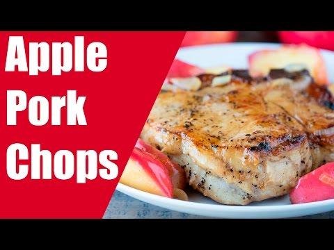 Seared Pork Chops With Apple-Fennel Slaw