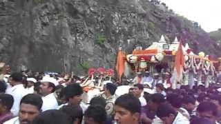 Mauli Palkhi agman in Dive Ghat Wari 2013.