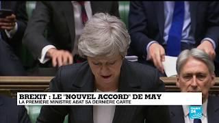 Brexit : La Première ministre abat sa dernière carte