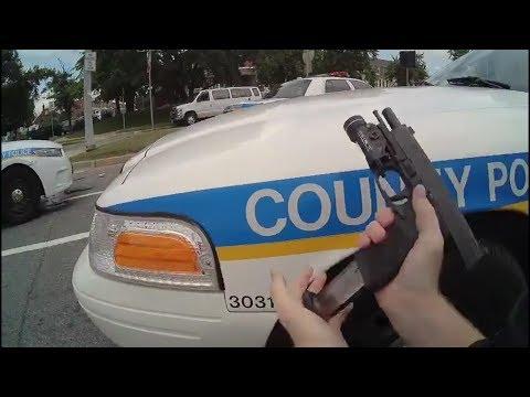 Bodycam Video Captures Baltimore Police Shootout