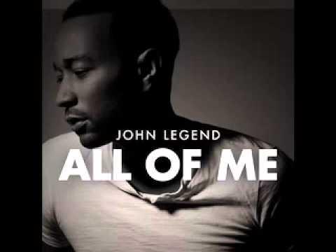 "JOHN LEGEND ""All off me"" - YouTube  JOHN LEGEND &qu..."