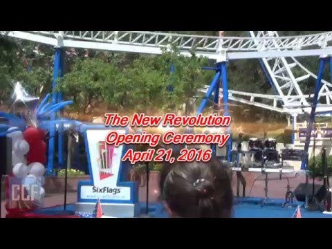 The New Revolution Opening Ceremony