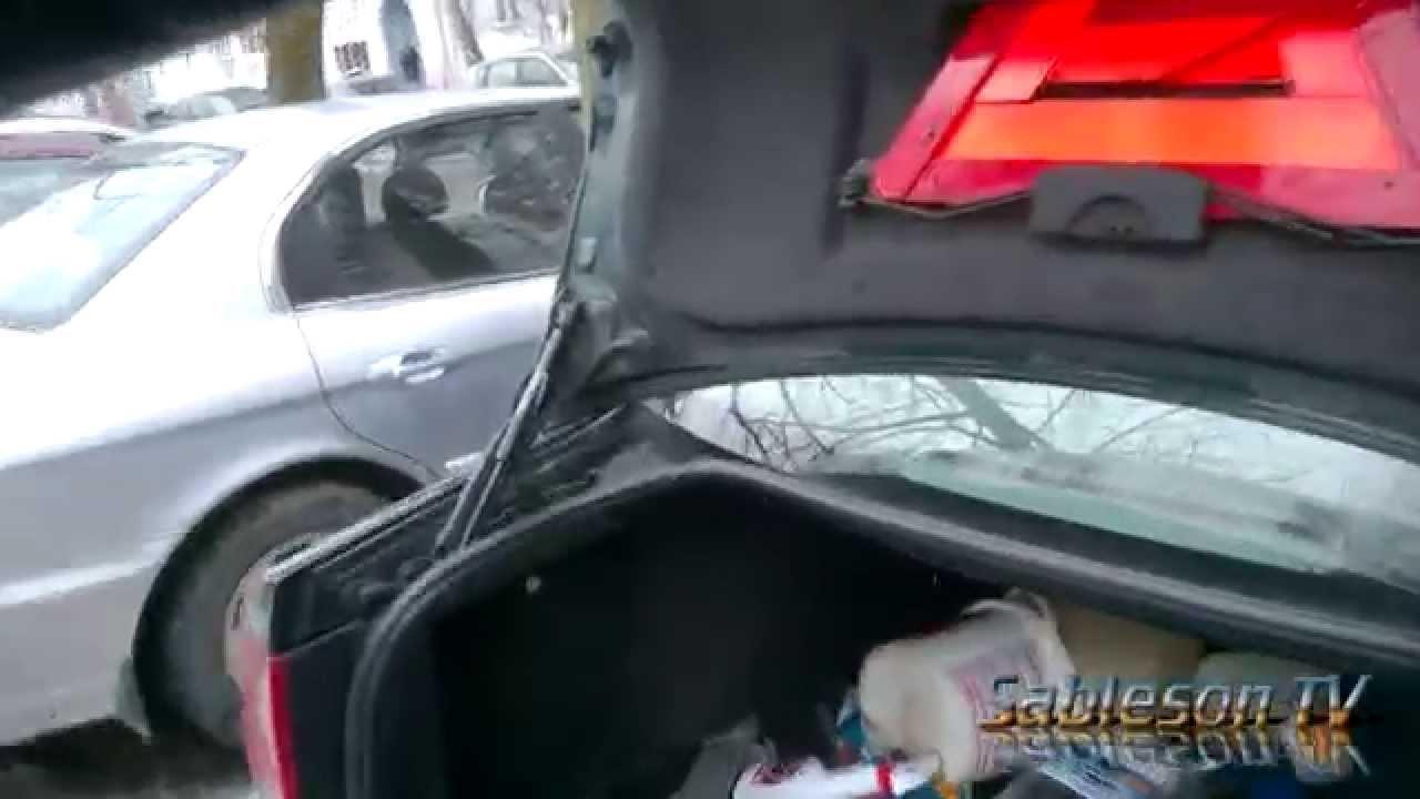 volkswagen passat b6 замена упоров крышки багажника