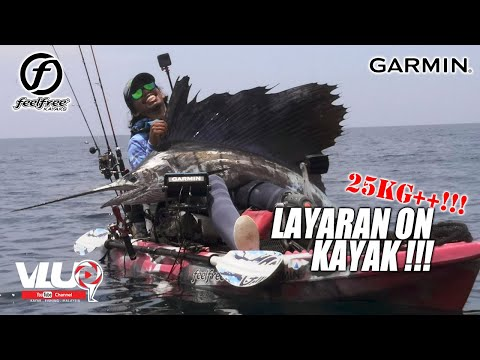 LAYARAN [SAILFISH] on KAYAK - #VLUQ214 - Kayak Fishing Malaysia