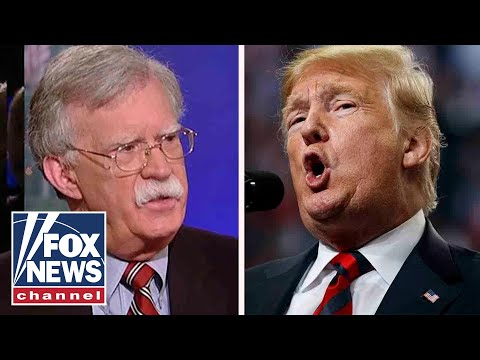 Trump sounds off on John Bolton in exclusive Fox News interview