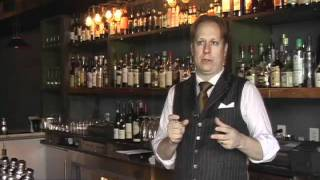 Expert Eyes - Eben Freeman, Mixologist, Tailor, New York