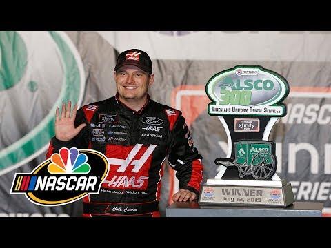 NASCAR Xfinity Series  Alsco 300 | EXTENDED HIGHLIGHTS | 7/12/19 | Motorsports on NBC