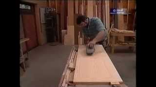 "Norm demonstrates how to built a blanket chest using pine lined with aromatic cedar. The chest dimensions are 22"" high x 44"" wide"