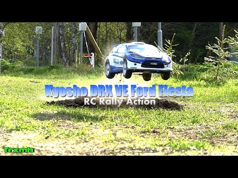 RC Rally Kyosho DRX VE Jump Action