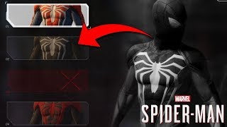 Spider-Man PS4 UNUSED TEST SUITS REVEALED