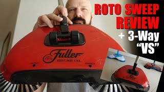 Roto Sweep Review: vs Easy Edge vs Spin Broom!