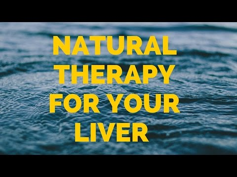 Natural therapy for your liver - liver detoxification home remedies