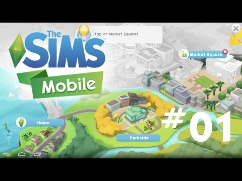 The Sims Mobile - First 30 Minutes of Gameplay - Let's Play Part 1 - Android/iOS Game