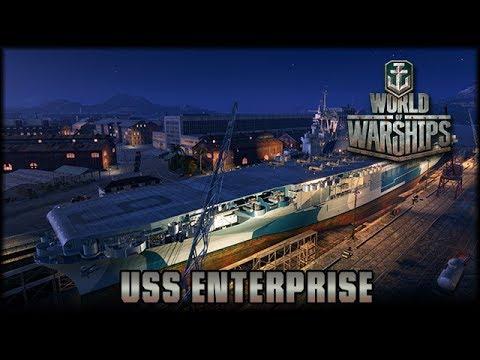 World of Warships - USS Enterprise [ deutsch 🐄 gameplay ]