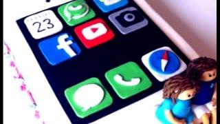 iPhone Torte/Motivtorte/Fondant Torte