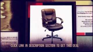 Ruzzi Mid-Back Mesh Chair $42.50 Free Shipping at Office Dep