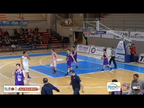 LNP Serie B 17/18 Mamy.eu Oleggio - All Foods Fiorentina Basket Firenze (girone A)