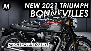 Which Triumph Bonneville Should You Buy In 2021? New Updates For T120, T100, Street Twin, Bobber