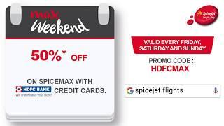 SpiceJet's Weekend Offer