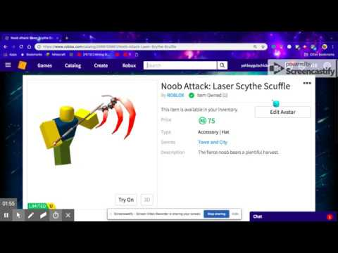 Roblox Limited Items 2020 Cheapest Limited On Roblox 75 Robux Youtube