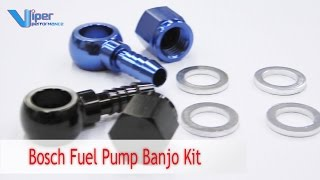 Bosch Fuel Pump Banjo Kit Demonstration Video