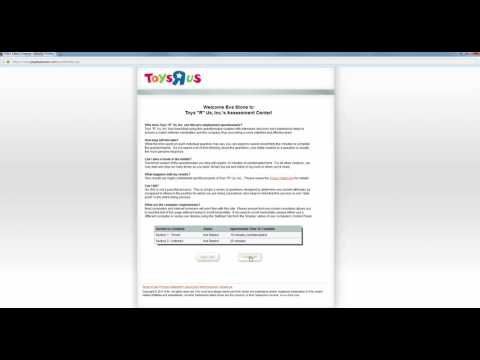 Toys R Us Job Application Online Process