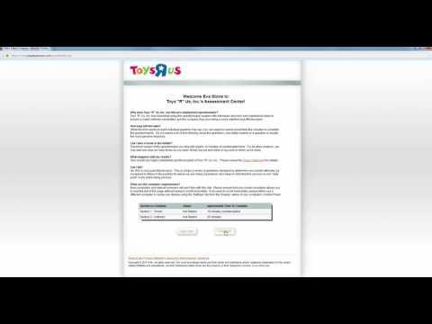 Toys R Us Job Application Online Process