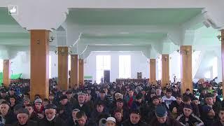 Выступление Муфтия Волгограда в Шамхале